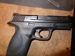 Smith & Wesson S&W M&P 9mm night sights Full size Police trade in Used  excellent condition