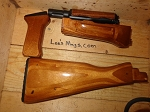 4 piece Laminate  AK Stock Set with gas tube