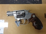 Colt Classic  Cobra 38spl +P Revolver Stainless with wood grips