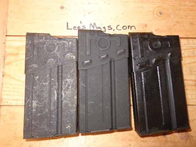 Surplus Used HK G3 20rd Steel Magazine  308 caliber