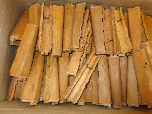 Yugoslavian AK-47 wood lower Handguard unfinished Good condition