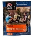 Mountain House  Vanilla Ice cream sanwich. One serving pouch