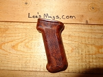 Beautiful Polish Bakelite AK Pistol grip. dark cherry red