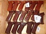 Polish AK Bakelite AK Pistol grip. Pick your style