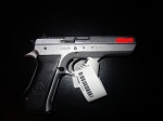 Israeli Police Surplus IMI Jericho 941 F w/ Star, Single Action Only, 9mm, *Very Good* stainless
