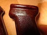 Trench Art Romanian AK Bakelite Pistol grip  Restored with gloss clear coat