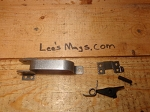 AK-47 trigger guard assembly with stop plate unfinished