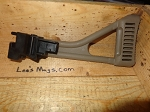 AK47 SIDE FOLDING STOCK SET FDE TAPCO Made in the USA
