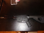 New Palmetto PX9 9mm  AR-15 style Pistol with stabilizer brace
