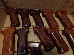 Polish Bakelite  AK Pistol grip, Gloss Refinished