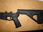 Palmetto PA-15 Complete pistol lower with stabilizer brace