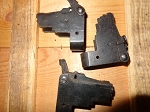 East German AK-47   rear sight block with locking lever