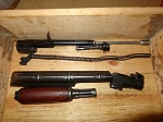 Romanian  AKM parts matching serial number parts set