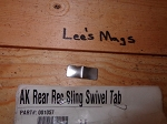 Ak-47  receiver Rear Sling Swivel tab for side folder