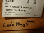 WASR AK Buttplate screw  1