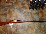 Russian Mosin Nagant 7.62X54 Rifle 91/30 Hex tula Matching serial numbers including bayonet Rare