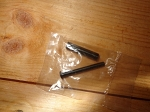 New Romanian  Ak-47 receiver spacer pin & receiver spacer
