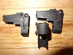 IO Inc Nano AK Pistol Rear Sight Block. Cut for Pistol