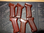 Polish Bakelite Ak-47 pistol grip  Darker 10pack
