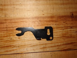 IO Inc AKM Axis Pin Retainer Plate Shepherds Hook