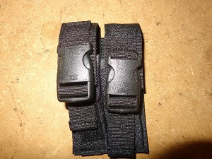 Universal 2-cell Pistol Mag Pouch For GLock Mags