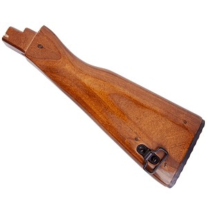 Beautiful AKM AK47 AK74 High Gloss  laminate Wood stock includes hardware